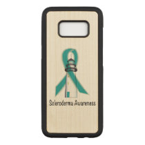 Scleroderma Lighthouse of Hope Carved Samsung Galaxy S8 Case
