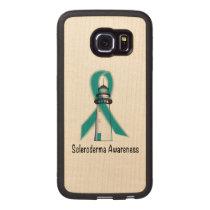 Scleroderma Lighthouse of Hope Wood Phone Case