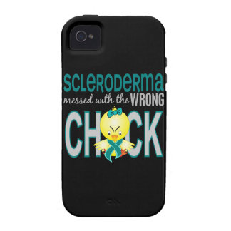 Scleroderma Messed With Wrong Chick Vibe iPhone 4 Cases