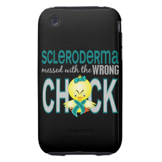 Scleroderma Messed With Wrong Chick iPhone 3 Tough Cases