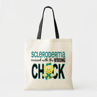 Scleroderma Messed With Wrong Chick Tote Bag