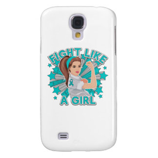 Scleroderma Modern Rosie Fight Like a Girl Galaxy S4 Cases