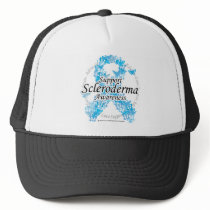 Scleroderma Ribbon of Butterflies Trucker Hat