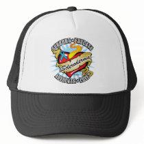 Scleroderma Tattoo Heart Trucker Hat
