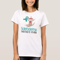 Scleroderma Teal For My Mom Tshirt