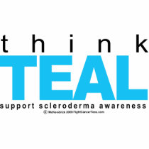 Scleroderma THINK Teal Cutout