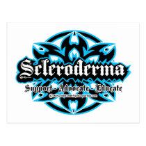 Scleroderma Tribal Postcard