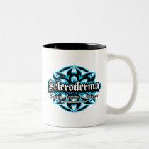 Scleroderma Tribal Two-Tone Coffee Mug