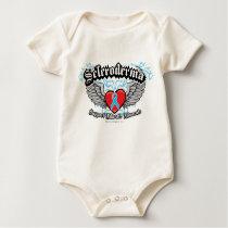 Scleroderma Wings Baby Bodysuit