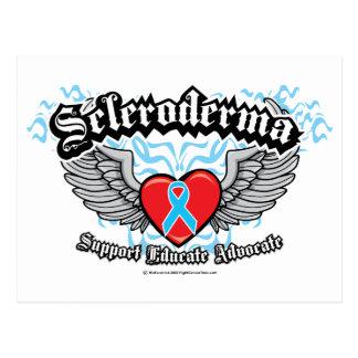 Scleroderma Wings Postcard