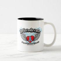 Scleroderma Wings Two-Tone Coffee Mug