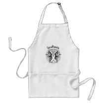 Sclerosis Butterfly 3 Adult Apron