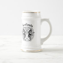 Sclerosis Butterfly 3 Beer Stein