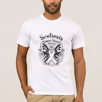 Sclerosis Butterfly 3 T-Shirt