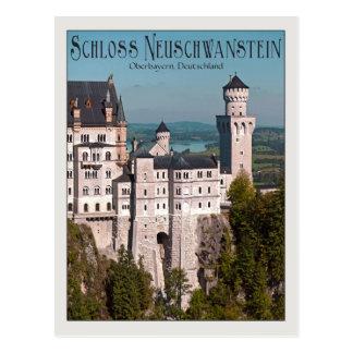 Scloss Neuschwanstein Postcard