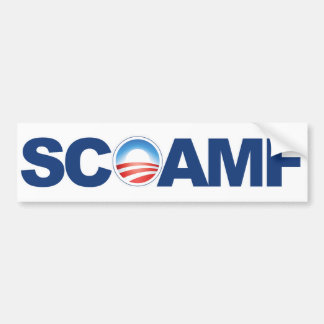 SCOAMF bumpersticker Bumper Sticker
