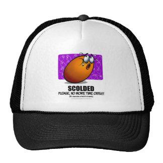 SCOLDED - Orange Trucker Hat