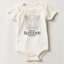 Scoliosis Butterfly Baby Bodysuit