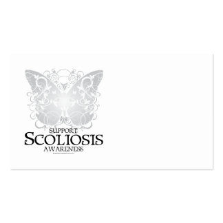 Scoliosis Butterfly Business Card