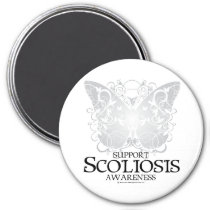 Scoliosis Butterfly Magnet