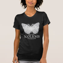 Scoliosis Butterfly T-Shirt