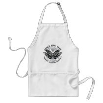 Scoliosis Butterfly Tribal Adult Apron