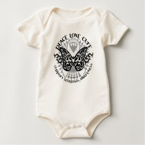Scoliosis Butterfly Tribal Baby Bodysuit