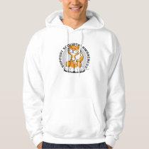 Scoliosis Cat Hoodie