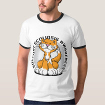 Scoliosis Cat T-Shirt