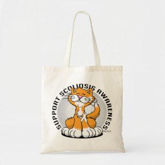 Scoliosis Cat Tote Bag