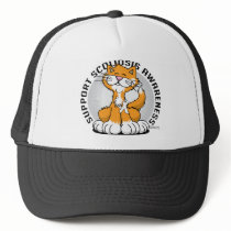 Scoliosis Cat Trucker Hat