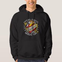 Scoliosis Classic Heart Hoodie