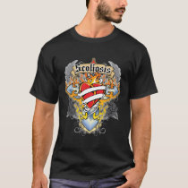 Scoliosis Cross & Heart T-Shirt