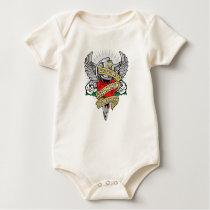 Scoliosis Dagger Baby Bodysuit