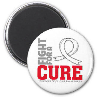 Scoliosis Fight For A Cure Fridge Magnet