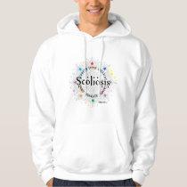 Scoliosis Lotus Hoodie