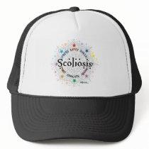 Scoliosis Lotus Trucker Hat