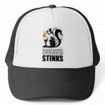 Scoliosis Stinks Trucker Hat