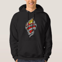 Scoliosis Tattoo Heart Hoodie