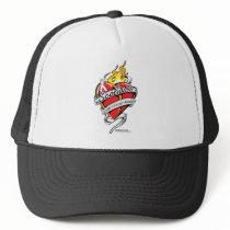 Scoliosis Tattoo Heart Trucker Hat
