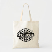 Scoliosis Tribal Tote Bag