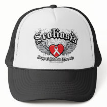 Scoliosis Wings Trucker Hat
