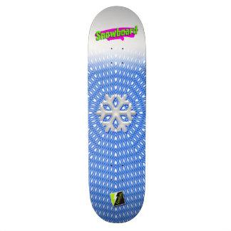 """Scolletta """"Snowboard"""" Deck 040"""