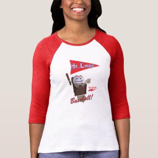 """Scolletta """"St. Louis Baseball!"""" 3/4 Raglan T-Shirt"""