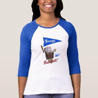 "Scolletta ""Toronto Baseball!"" 3/4 Sleeve Raglan T-Shirt"