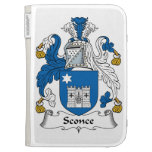 Sconce Family Crest Kindle Cover