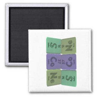 Scone-S-Co-Ne-Sulfur-Cobalt-Neon png Magnet