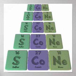 Scone-S-Co-Ne-Sulfur-Cobalt-Neon.png Print