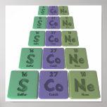 Scone-S-Co-Ne-Sulfur-Cobalt-Neon.png Posters