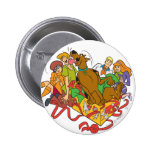 Scooby and Gang Christmas 01 Pin